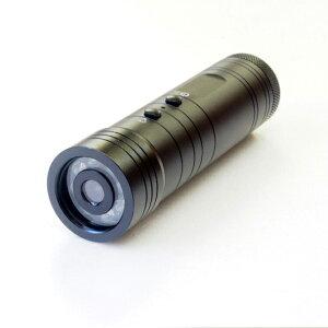 自転車用ドライブレコーダー LED ライト付き ドライブレコーダー 自転車 コンパクト USB充電式 運転 録画 撮影 記録 保存 通勤(代引不可)【送料無料】