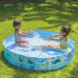 空気入れ不要 JILONG ジーロン ガーデンプール150cm ビニールプール 浮き輪 プール 家庭用 水遊び【送料無料】