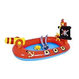 JILONG ジーロン パイレーツスプレイプール ビニールプール 浮き輪 プール 家庭用 水遊び【送料無料】