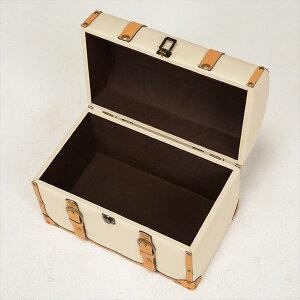 アンティーク調収納ボックスチェスター衣類収納小物収納トランクMUD-6010IV(代引不可)【送料無料】【smtb-f】