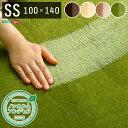 高密度フランネルマイクロファイバー・ラグマットSSサイズ(100×140cm)洗えるラグマット|ナルトレア(代引き不可)【送料無料】