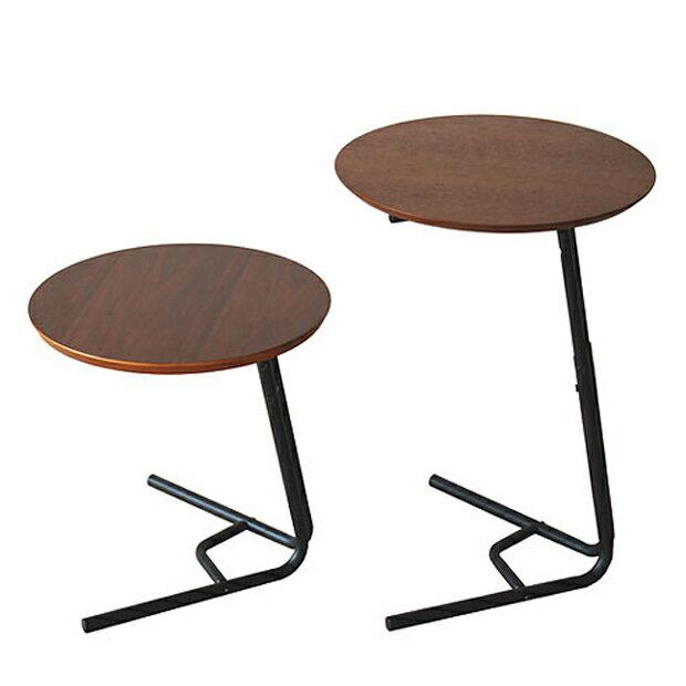 anthem アンセム 2way side table サイドテーブル テーブル 2ウェイ スタイリッシュ ANT-2673BR (代引き不可)【送料無料】