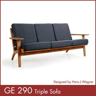 GE 290 triple sofa Hans-J-Wegner Hans.J.Wegner GE29 taking (non-COD)