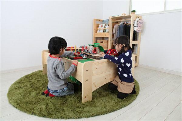 プレイテーブル 幅120cm テーブル PLAY TABLE 日本製 木製 子供 子ども机 つくえ ギフト プレゼント オシャレ 木製家具(代引不可)【送料無料】