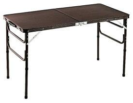 木目調軽量折りたたみテーブル 120cm テーブル 机 つくえ 折りたたみ(代引不可)【送料無料】【S1】