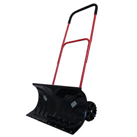 雪かき 車輪付スノープッシャー 道具 除雪機 手押し ショベル 降雪 スノーダンプ キャスター付き(代引不可)【送料無料】【smtb-f】【S1】