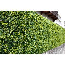 リアルグリーンフェンス 1m×1m ボックスウッド グリーンカーテン 日よけ フェイクグリーン 観葉植物 おしゃれ 装飾(代引不可)【送料無料】