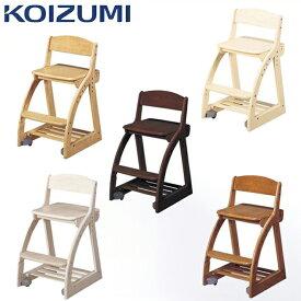 KOIZUMI コイズミ 学習椅子 学習チェア フォーステップチェア板座 CDC-761WW CDC-762SK CDC-763NS CDC-764BS CDC-765WT CDC-766BK 2018年度 板座面 フォーステップチェア(代引き不可)【送料無料】