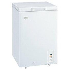 【4時間限定エントリーでポイント10倍 11/1 20:00〜23:59】 ハイアール 103L チェストタイプ 冷凍庫(フリーザー)直冷式 ホワイトHaier JF-NC103F(W)(代引き不可)【送料無料】