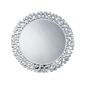鏡 壁掛け 卓上 2way ミラー クロシオ 丸型ミラー クリスタル ミラー(代引不可)【送料無料】【smtb-f】