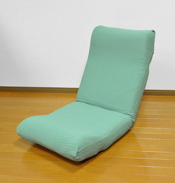 座椅子カバー 日本製 フィット式撥水ストレッチ座椅子カバー 洗濯可能 座椅子 カバー ストレッチ 撥水加工 国産(代引不可)【送料無料】【chair0901】