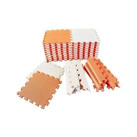 リトルプリンセス Little Princess 抗菌フロアーマット ツートンカラー オレンジ&ベージュ【送料無料】【smtb-f】