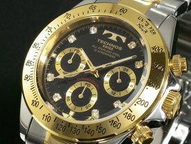 テクノス TECHNOS 腕時計 時計 クロノグラフ TGM640TB