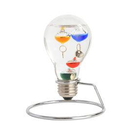ファン サイエンス FUN SCIENCE ガラスフロート温度計 電球 333208 シルバー
