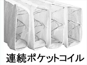 フランスベッドマットレススランバーランドSL-100ダブル縁グレータイプ連続ポケットコイルマットレス(代引不可)【送料無料】【smtb-f】