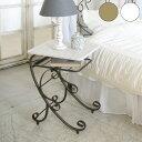 ナイトテーブル Celestia(セレスティア) サイドテーブル ベッドテーブル 棚付き おしゃれ(代引不可)【送料無料】