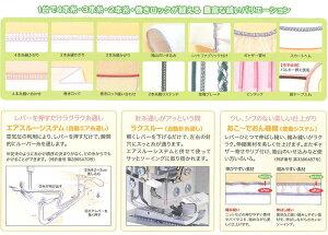ジューキミシンベビーロック衣縫人BL57EXS(代引き不可)【送料無料】【smtb-f】【RCP】