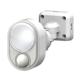 ムサシ 4W×1灯 LED センサーライト 防犯ライト LEDライト 人感センサーライト フリーアーム 屋外 防犯グッズ 防犯 玄関(代引不可)
