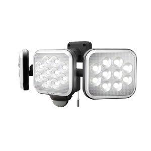 RITEX ライテック ムサシ 12W×3灯 フリーアーム式 LED センサーライト 防犯ライト LEDライト 人感センサーライト 屋外(代引不可)【送料無料】