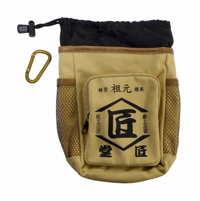コヅチ KOZUCHI(コヅチ) 匠堂 腰袋 生成(きなり) TD-12BE