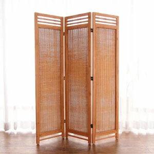 アジアンスクリーン 3連 PT(パイン) 籐家具 スクリーン パーテーション 間仕切り 目隠し 仕切り 衝立 ついたて 寝室 籐(代引不可)【送料無料】
