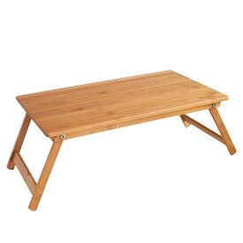 バカンス バンブーテーブル 折畳みテーブル 折れ脚テーブル ローテーブル ミニテーブル 竹製 ガーデン(代引不可)【送料無料】
