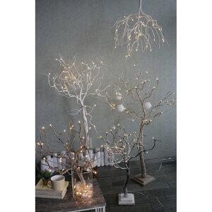 クリスマスLEDブランチツリーホワイトSサイズ(代引不可)【送料無料】【smtb-f】