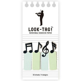 LOOK TAG! ミュージック 付箋(代引不可)