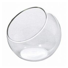 ミニガラスフラワーベース ドーム クリア NAGK1910(代引不可)