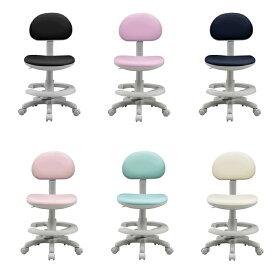 学習チェア ステップ5 合皮 ライトピンク ネイビー パープル ブルー アイボリー ブラック イス 学習椅子 勉強椅子(代引不可)【送料無料】