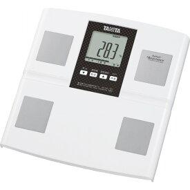 タニタ 体組成計 ホワイト 健康機器 体脂肪計 内臓脂肪計 体重計付体脂肪計 BC756WH(代引不可)【送料無料】