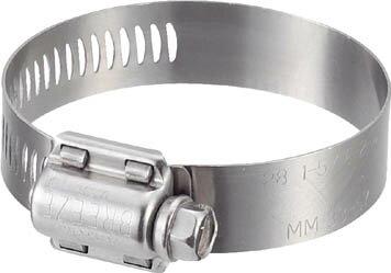 BREEZE ステンレスホースバンド 締付径 21~38mm 10個入【TH-30016】(ホース・散水用品・ホースバンド)