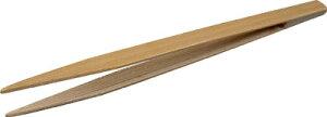 TRUSCO 竹ピンセット 150mm 先細型【TSP-48】(はんだ・静電気対策用品・ピンセット)