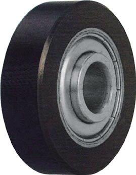 TRUSCO ベストローラー 重荷重用 Φ40 片側突出タイプ【BRH-40V】(駆動機器・ベアリング・ベアリング)【S1】