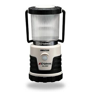 ジェントス LEDランタン エクスプローラー SOL-036C ランタン 照明 作業灯 灯 ライト 白色 昼白色 暖色 LED GENTOS 電池【あす楽対応】