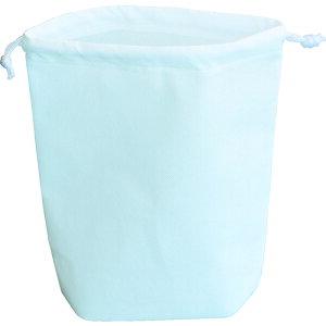 TRUSCO トラスコ 不織布巾着袋 A4サイズ マチあり ホワイト 10枚入 HSA410W