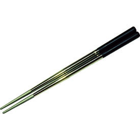 TRUSCO トラスコ プラ付きステンレス箸 滑り止め 230 SHPB230