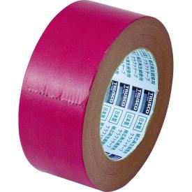 TRUSCO トラスコ カラークラフトテープ 幅50mmX長さ50m レッド TKT50R