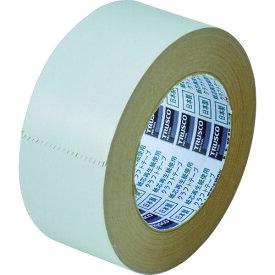 TRUSCO トラスコ カラークラフトテープ 幅50mmX長さ50m ホワイト TKT50W