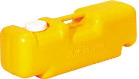ミツギロン 注水式重石バリストン イエロー 510×165×高さ175【87036】(安全用品・標識・工事用フェンス)
