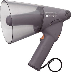 TOA 小型ハンド型メガホン【ER-1106】(安全用品・標識・拡声器)
