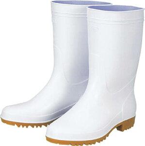 ジーベック 抗菌衛生白長靴85760白255【85760-255】(安全靴・作業靴・長靴)