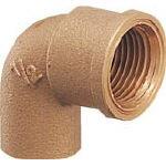カクダイ 銅管用水栓エルボ【6192-P20X22.22】(管工機材・水道配管資材)