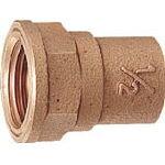 カクダイ 銅管用水栓ソケット【6196-P13X22.22】(管工機材・水道配管資材)