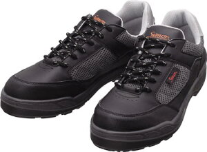 シモン プロスニーカー 短靴 8811ブラック 24.0cm【8811BK-24.0】(安全靴・作業靴・プロテクティブスニーカー)