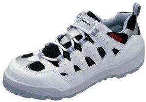 シモン プロスニーカー 短靴 8800白/黒 26.5cm【8800W-26.5】(安全靴・作業靴・プロテクティブスニーカー)