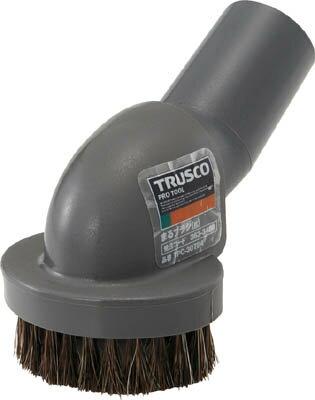 TRUSCO まるブラシ 馬毛 グレー【TPC-30724】(清掃用品・そうじ機)