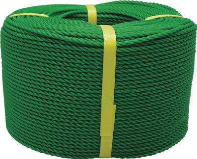 ユタカ ロープ PEロープ巻物 3φ×200m ブラック【PE-74】(ロープ・ひも・ロープ)