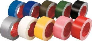 スリオン カラー布粘着テープ50mm レッド【339000-RD-00-50X25】(テープ用品・梱包用テープ)