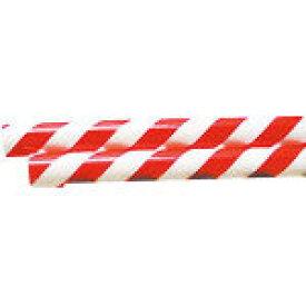 日東エルマテ パイププロテクター 赤/白 RW−40【RW-40】(安全用品・標識・安全クッション)